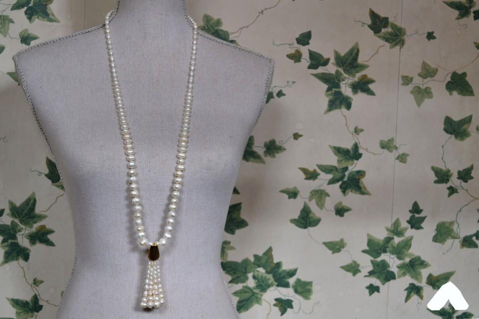 Perlas borla